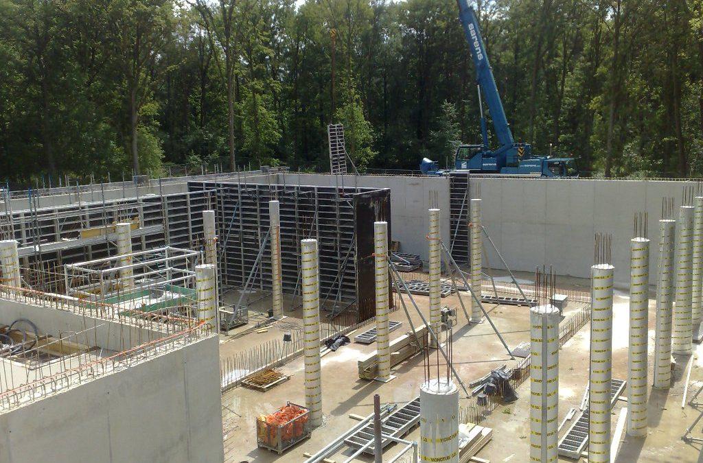 Nieuwbouw reinwaterreservoir te Halsteren