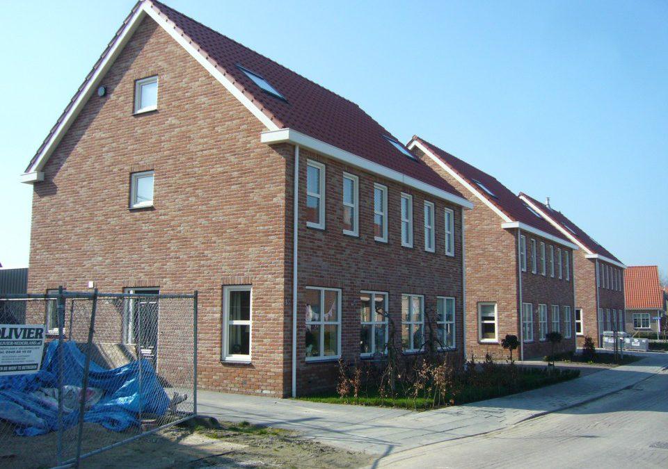Nieuwbouw 6 woningen te Meliskerke