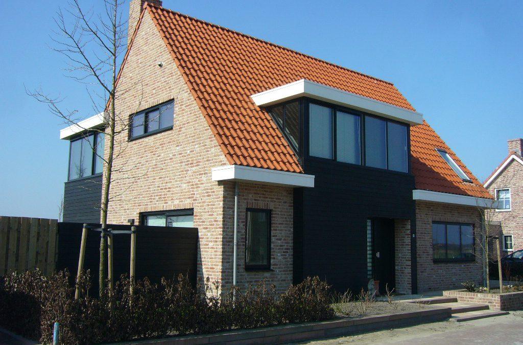 Nieuwbouw vrijstaande woning te Aagtekerke